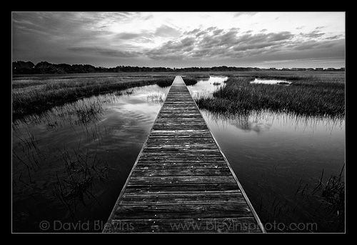 Boardwalk to Bald Head Creek